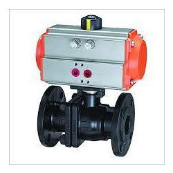 ball valve with actuator