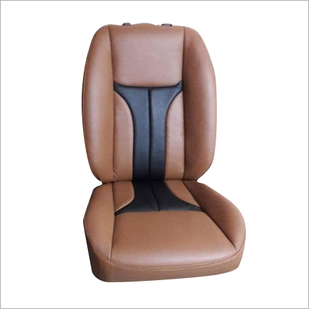 Tumble Finish Leather Car Seat Cover