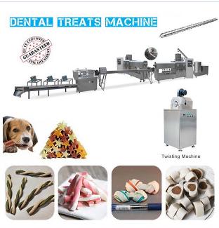 Dental Treats Extrusion Machine