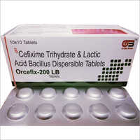 CEFIXIME  WITH LACTIC ACID BACILLUS