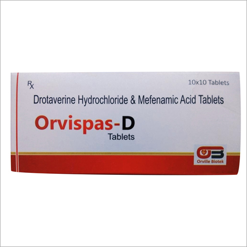 DROTAVERINE & MEFENAMIC ACID TABLET