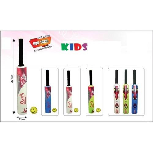 Kids Plastic Cricket Bat & Ball