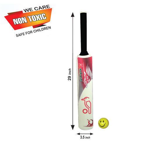 Makali Plastic Cricket Bat & Ball