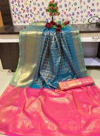 Soft Kanchipuram silk saree