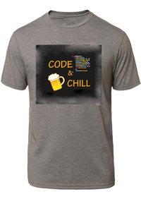 Cotton Half Sleeve Designer T Shirt