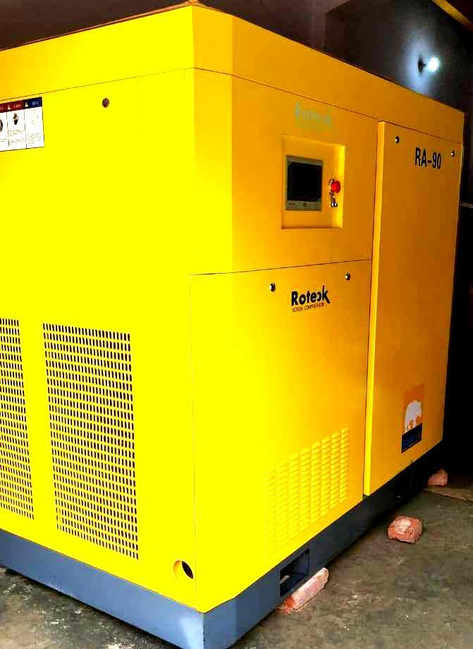90 Kw Screw Air Compressor