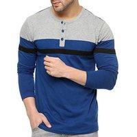 Mens Full Sleeve Designer T Shirt  ---------  Rs 100/ Piece