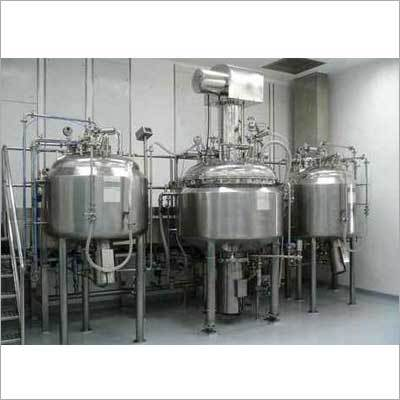 Ointment Cream Processing Plant