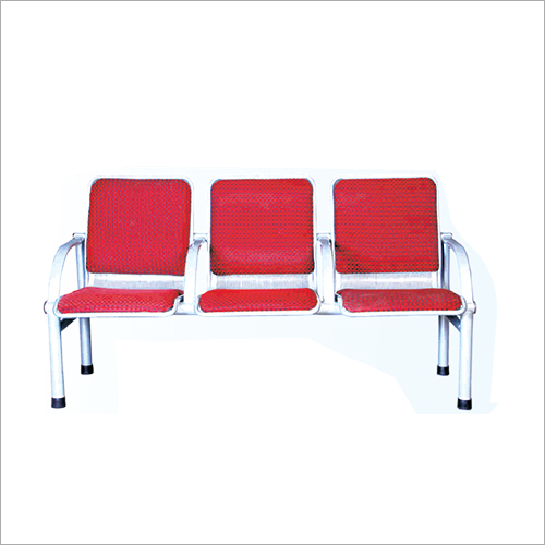 3 Seater SS Visitor Waiting Chair