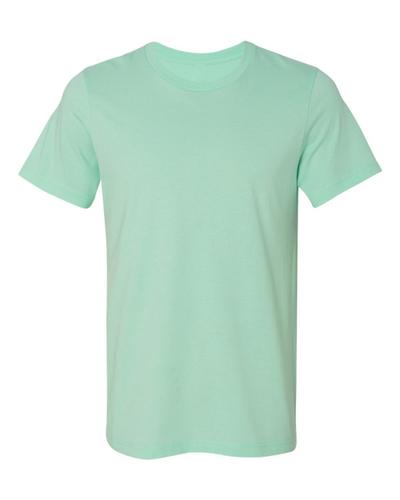 Plain Mint Color Round Neck Mens T-Shirt -----------  Rs 70/ Piece