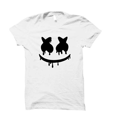 Cotton Half Sleeve White T Shirt