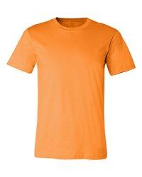 Men's Round Neck biowash Orange T-Shirt  --------  Rs 125/ Piece