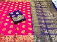 Soft Banarasi saree