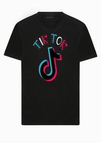 TikTok Printed Biowash Cotton T-shirt   -------     Rs 155/ Piece