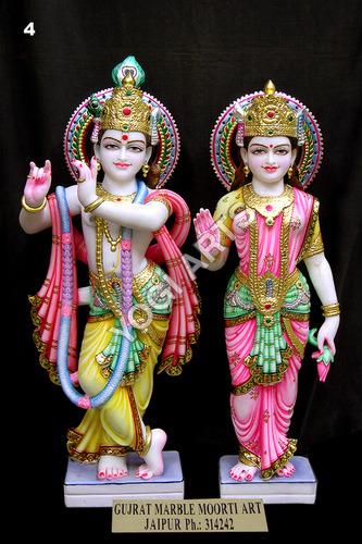 YogiArts- Radha Krishna Statue 4