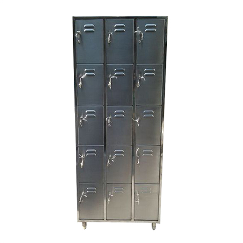 15 Door Stainless Steel Locker Cabinet