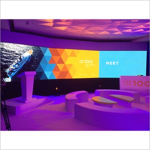 Curved LED Indoor Video Screen