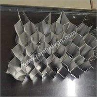 Aluminium honey comb sheet