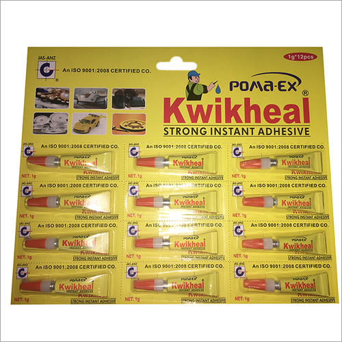 1 Gram Kwikheal Strong Instant Adhesive