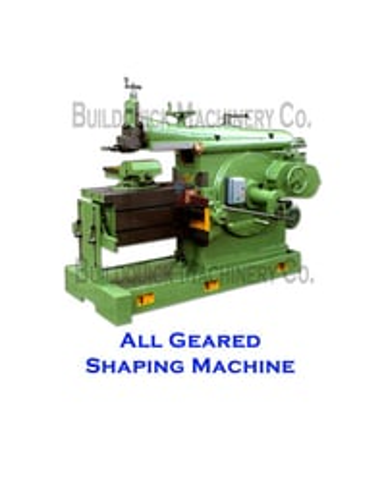 Geared Shaping Machine