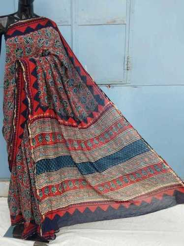 Jaipuri Printed cotton saree