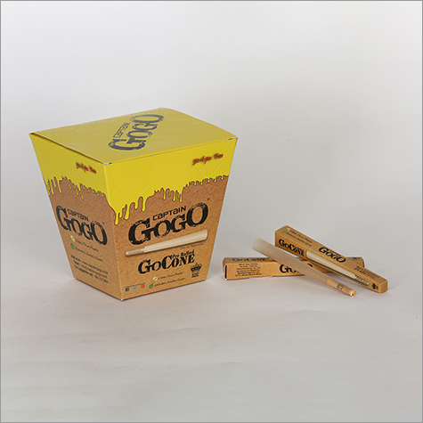 GoCone Unbleached Brown Pre Rolled Rolling Paper