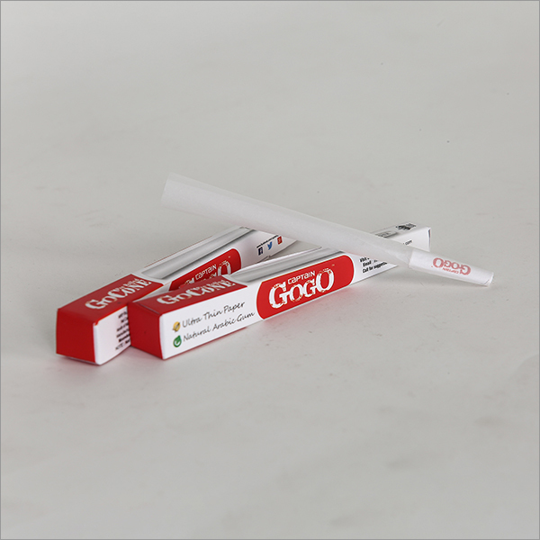 GoCone Pre Rolled Bleached White Rolling Paper