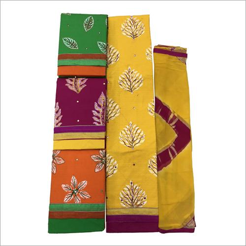 Ladies Punjabi Suit Fabric