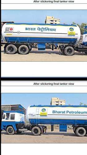 BPCL Gas Tank Painting
