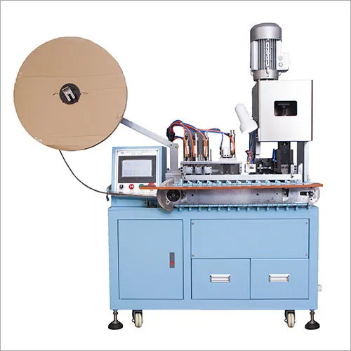 LX-580 Plug Crimping Machine (Two Round Pin Plug Inserts)