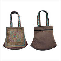 Handicraft Designer Handbag with embroidery work