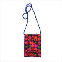 Embroidery Fashionable Sling Bag