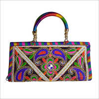 Handicraft Designer Handle Womens Hand Bag