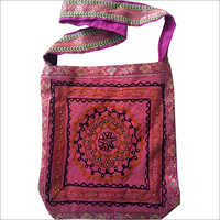 Handicraft Acid Wash Cross Body Designer Shoulder Bag