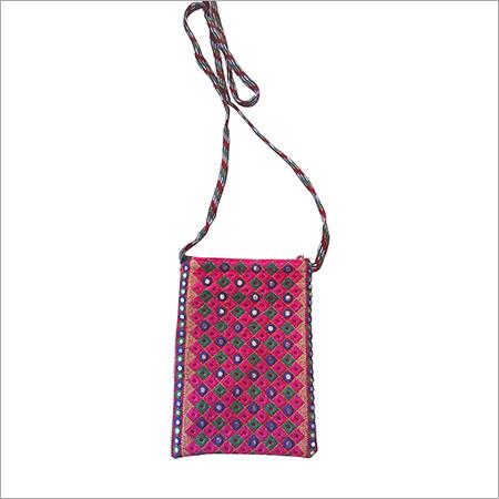 Designer Computer Embroidery Sling bag