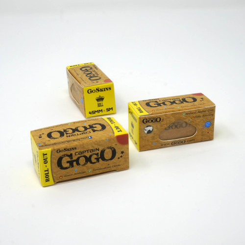 Roll Out Unbleached Brown Rolling Paper