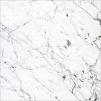 14 MM Unpolished White Marble