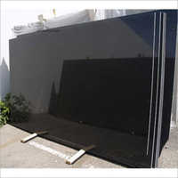 Polished Khammam Black Granite
