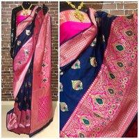 Banarasi silk waving Saree