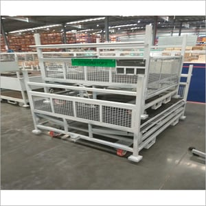 Stackable Wire Mesh Trolley