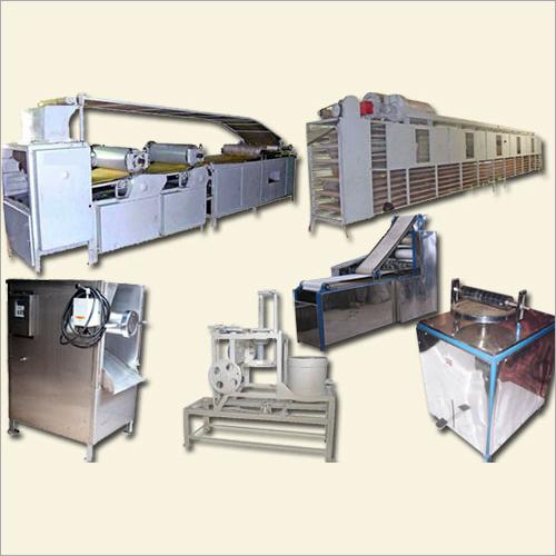 Papad Processing Machinery