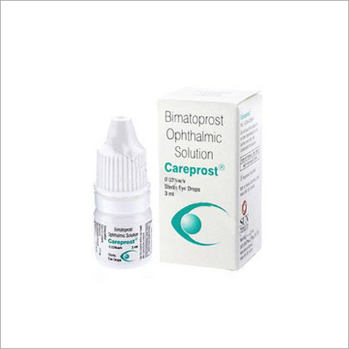 Bimatoprost Ophthalmic Solution Eye Drop