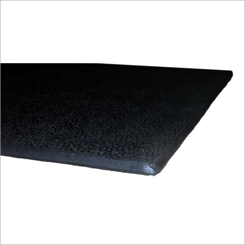 Textured Black Floor Rubber Tile