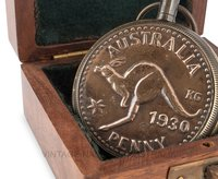 Pocket Watch Australian 1930 Penny