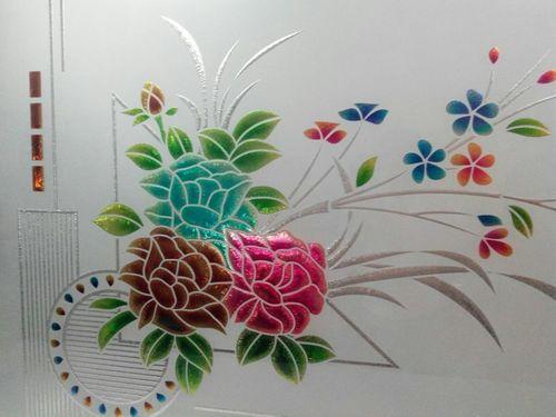 lacquer design glass