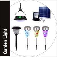 Garden Light Battery