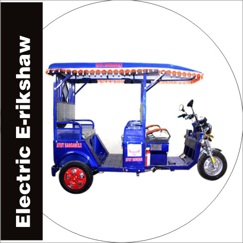 Electric E-Rickshaw Battery