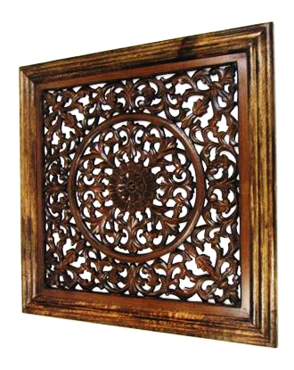Wooden Wall panel Wall Hanging Flower