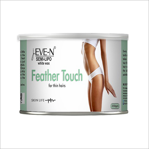 350gm Feather Touch White Wax