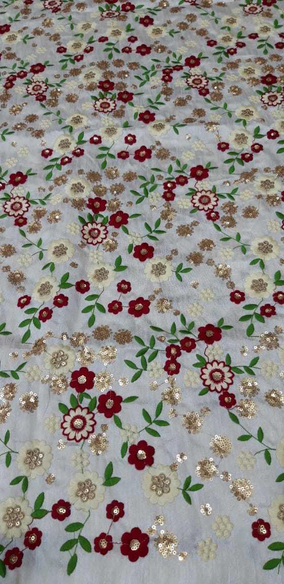 fancy embroidery garment  fabrics